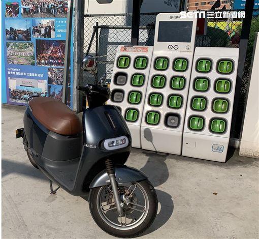 GOGORO,新北市交通局,停車場,電動機車電池交換站,電池交換站,電動機車租賃站