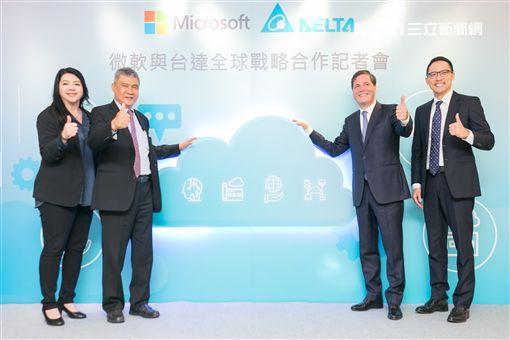 台灣微軟,台達,Microsoft Azure,混合雲,智慧雲端,微軟,AI