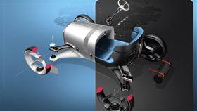 ▲Vision Mercedes Simple電動概念車。(圖/翻攝網站)
