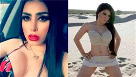 神似好萊塢知名女星金卡戴珊的墨西哥女殺手菲利克斯(Claudia Ochoa Felix) 圖/mirror