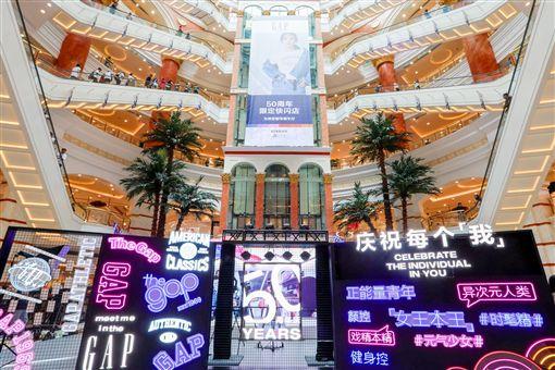 Gap大中華區代言人蔡依林耀眼現身品牌50周年生日派對