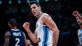 世界盃/傳皇馬有意39歲世界盃殺神 FIBA世界盃,阿根廷國家隊,Luis Scola,皇家馬德里 翻攝自推特