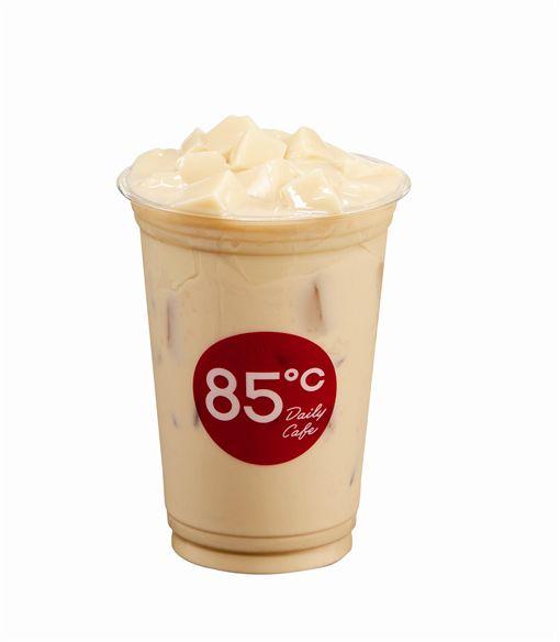 豆花,奶茶,85℃,豆花奶茶,薑汁豆花,85度C圖/品牌提供