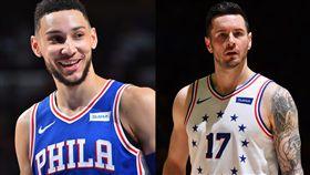 NBA/西門練出跳投?帥哥射手不信 NBA,費城七六人,Ben Simmons,跳投,JJ Redick 翻攝自推特