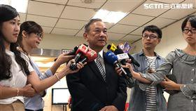 法務部政務次長陳明堂表示,廣大興案台菲司法互助模式良好,希望未來能繼續下去。(圖/記者楊佩琪攝)