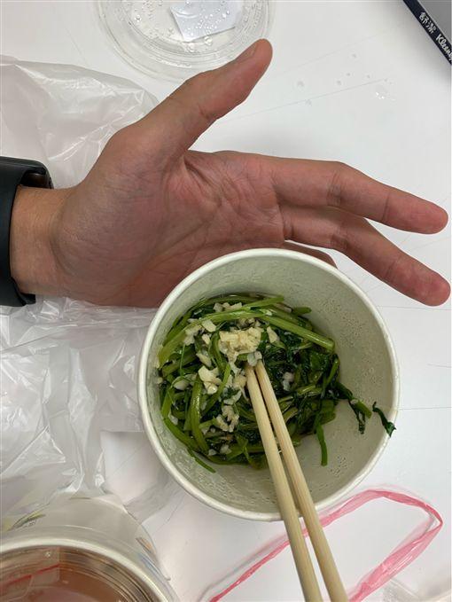 內湖,燙青菜,物價,痛苦,美食沙漠,PTT 圖/翻攝自PTT