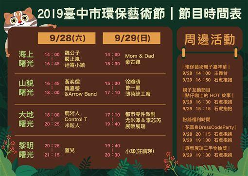 ▲臺中市環保藝術節(圖/主辦單位提供)