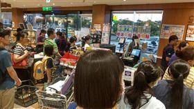 超市,收銀,排隊,結帳,大媽,緩慢