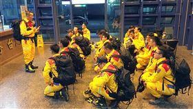 新竹市,九二一,機動力,模擬測試,面對危機(圖/新竹市消防局提供)中央社