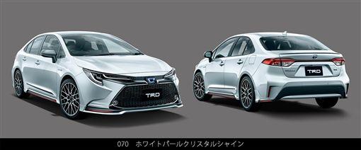 ▲Toyota日規Corolla TRD改裝套件(圖/翻攝網路)