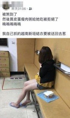 新北市樹林分局抓到號稱「越南新垣結衣」的阮姓女子(翻攝畫面)