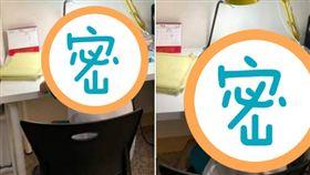 兒子,寫作業,安全帽,巴頭,爆怨公社 圖/翻攝自臉書爆怨公社