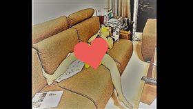 老婆,沙發,老公,下班,春光外洩