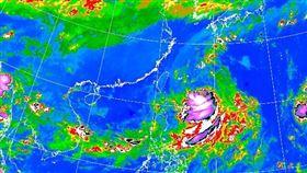 氣象局紅外線雲圖20190920(圖/翻攝自氣象局)