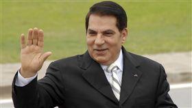 突尼西亞前總統班阿里(Zine El Abidine Ben Ali),圖/美聯社/達志影像