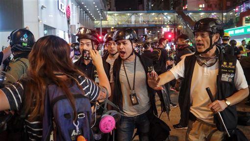 國際特赦組織,香港,反送中,揭暴行,港警,任意虐待(圖/中央社)