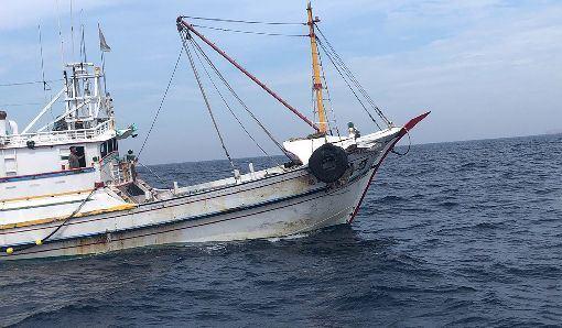 美國,南韓,非法捕魚,美韓自由貿易協定,提出申訴(圖/中央社)