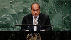 吉里巴斯現任總統馬茂(Taneti Maamau)。(圖/達志影像/美聯社)