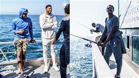 NBA/季前團建!喬治、可愛去海釣 NBA,洛杉磯快艇,Kawhi Leonard,Paul George,海釣 翻攝自洛杉磯快艇官方推特