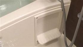日本,浴缸,肥皂。(圖/翻攝自爆廢公社)