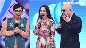 歌手辛龍近日搭擋閨蜜金佩姍上華視《超級同學會》。圖/華視提供
