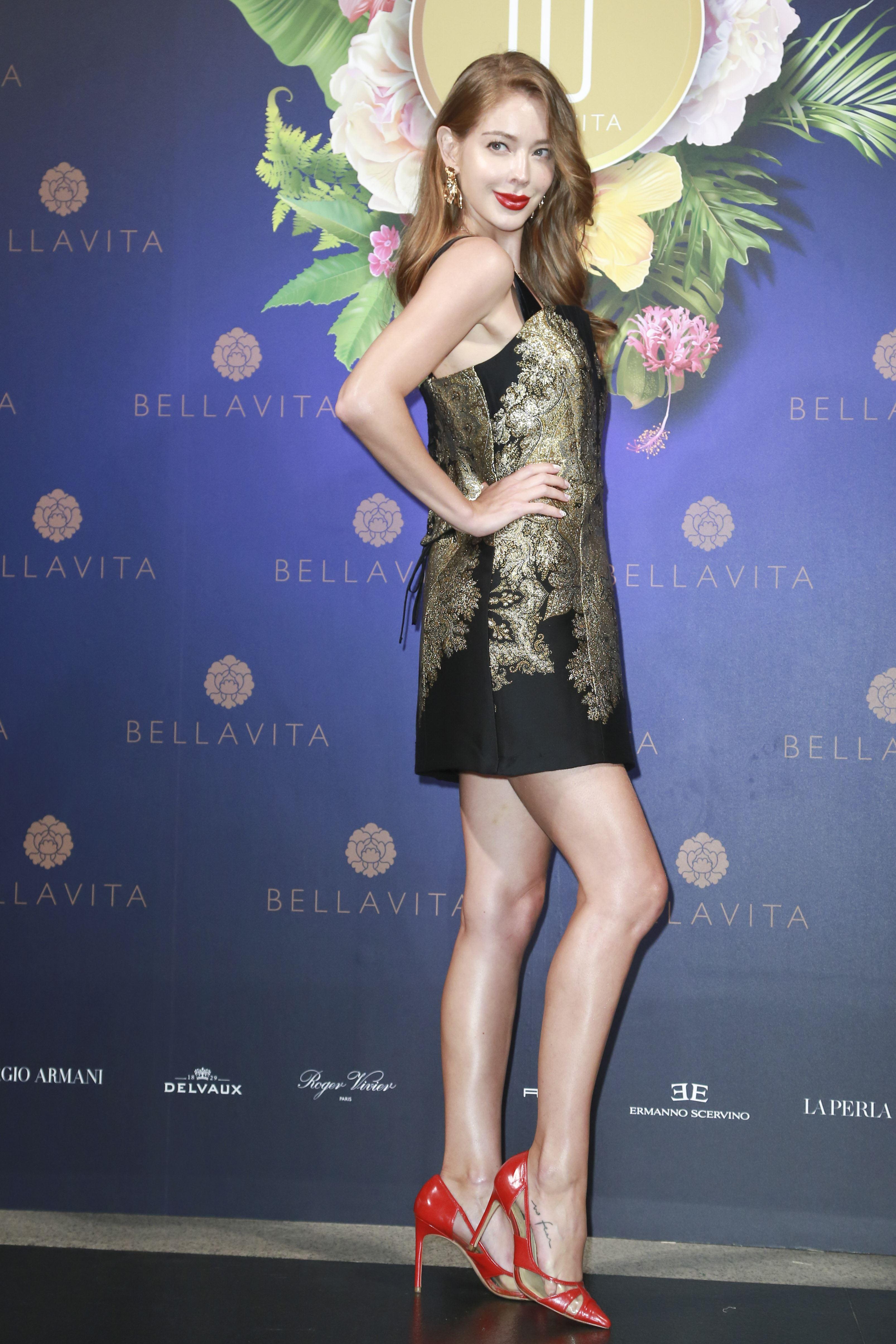 BELLAVITA歡慶10周年時尚之夜,安妮。(圖/記者林士傑攝影)