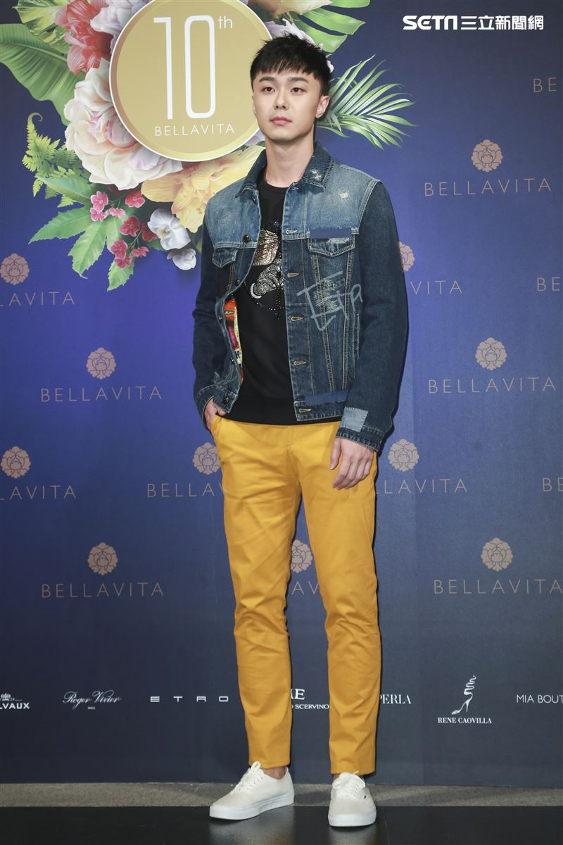 BELLAVITA歡慶10周年時尚之夜,施柏宇。(圖/記者林士傑攝影)