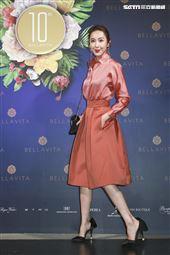 BELLAVITA歡慶10周年時尚之夜,隋棠。(圖/記者林士傑攝影)