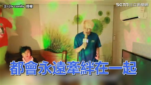▲媽媽被大唱BTS的Coni吵醒。(圖/코니tv conitv 授權)