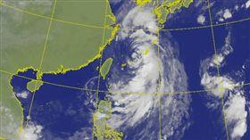 0921塔巴颱風衛星雲圖_氣象局
