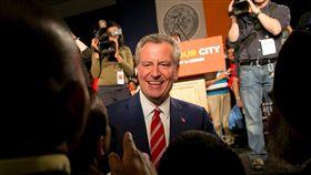 紐約市長白思豪 圖翻攝自Bill de Blasio臉書