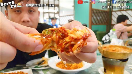 蝦膏爆量的蒜味酸辣大蝦