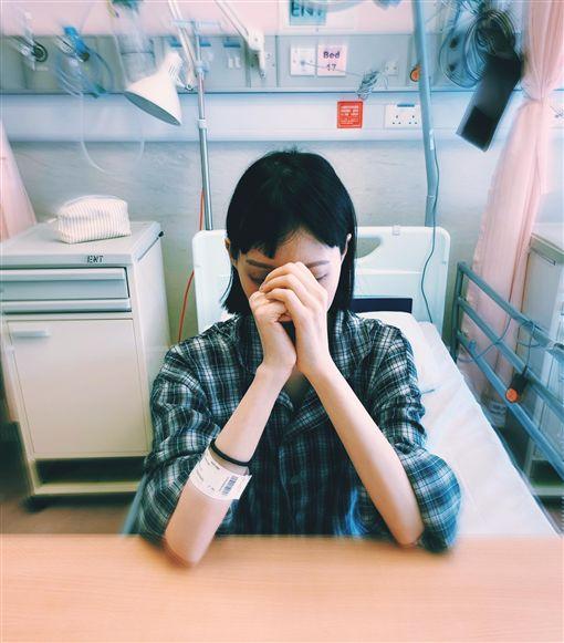 李明蔚,腺樣囊性癌,癌症,手術,抗癌 圖/臉書