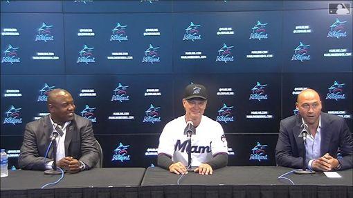 ▲馬丁利(Don Mattingly)續任馬林魚總教練。(圖/翻攝自MLB官網)