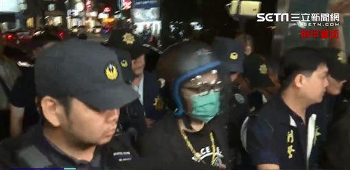 連千毅被捕(圖/翻攝畫面)