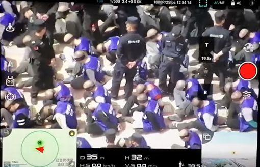 新疆,維吾爾族,集中營,學生,蒙眼,PTT 圖/翻攝自YouTube