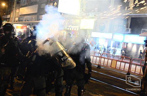 香港反送中 元朗靜坐變武場/立場新聞
