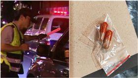 正妹遭攔!警搜「夾鏈袋+膠囊」呈毒品反應…她傻眼揭真相(圖/翻攝自爆怨公社)