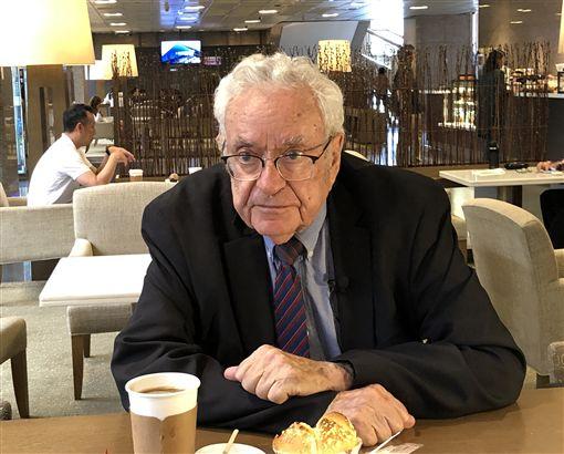 以色列國際關係學者梅迪茲尼表示,大部分的以色列人並不了解台灣,為此,他正以希伯來文撰寫有關台灣的書籍,台灣並非中國一部分。中央社記者侯姿瑩攝 108年9月22日