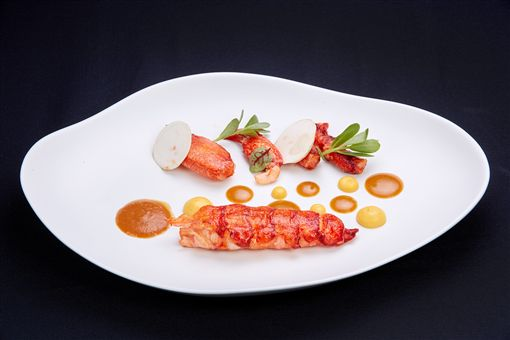 ▲披著台味的西餐(圖/台北國賓大飯店提供)