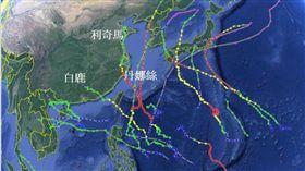 今年颱風又哈日?賈新興揭密2關鍵:台灣上空有「金鐘罩」(圖/翻攝自賈新興臉書)