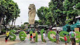 趕快去拍!新加坡「魚尾獅塔」下月拆除 24年景點成回憶(圖/翻攝自Google Map)