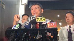 柯文哲0923受訪 記者李依璇攝影