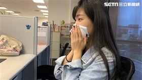 過敏,擤鼻涕,流鼻水,記者林柏廷攝