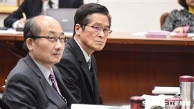 司法委員會審查總統府預算,國安會秘書長嚴德發出席備詢。 圖/記者林敬旻攝
