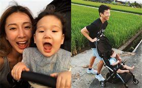 隋棠和老公Tony帶3歲大兒子Max、2歲女兒Lucy,以及不滿1歲的小兒子Olie回南投老家。臉書