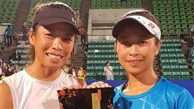 ▲謝淑薇在武漢女網賽又成為前球后殺手。(圖/取自謝淑薇粉絲團)