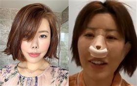 「金老佛爺」(金楨美)/動了鼻子的整型手術。IG