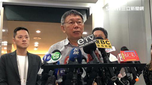 ▲台北市長柯文哲(圖/記者李依璇攝)