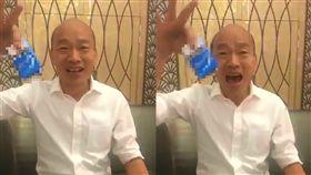 韓國瑜直播「口袋掏菸」 挺韓名嘴陳揮文搖頭:缺政治幕僚 圖翻攝自韓國瑜臉書